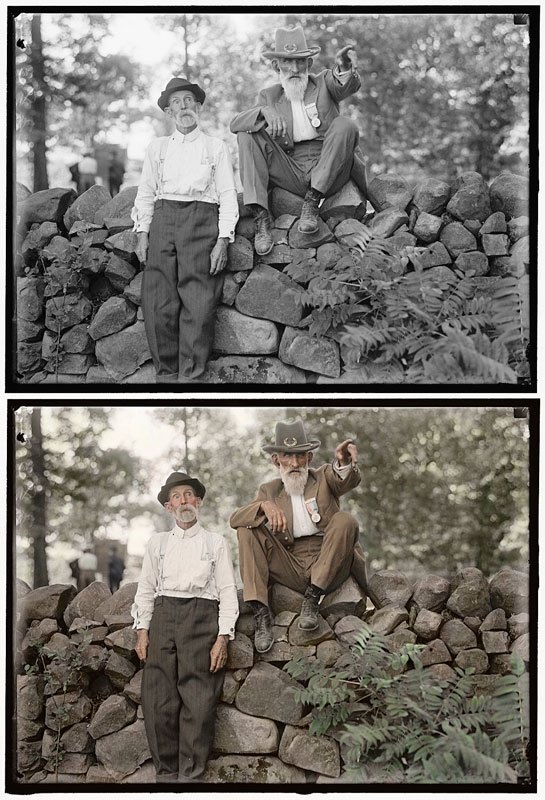 historic black and white photos colorized (14)