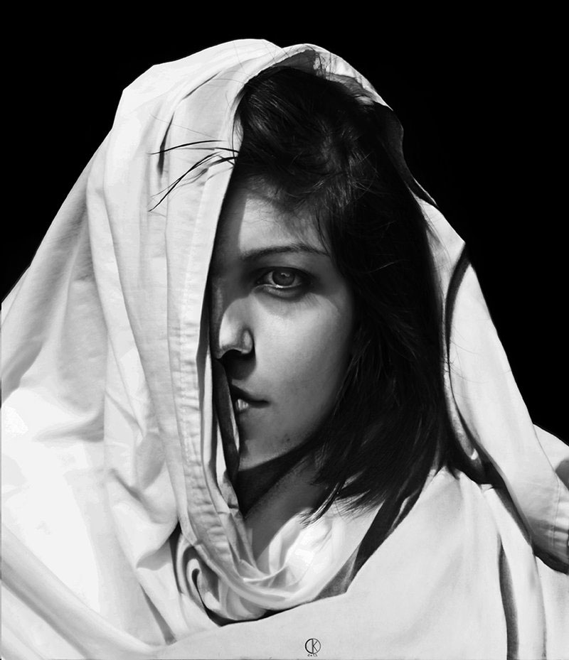 These Portraits Were Drawn with Just a Pencil
