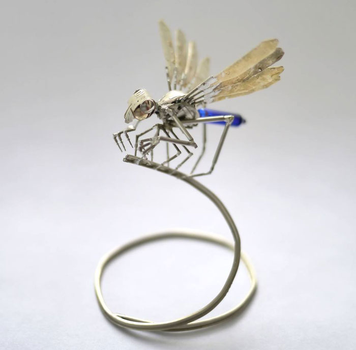 insects made from watch parts and discarded objects by justin gershenson-gates a mechanical mind (3)