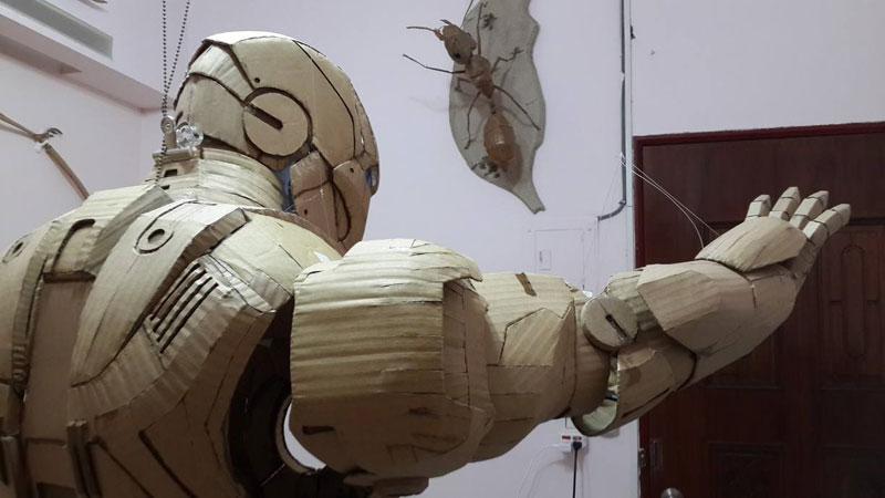 ironman suit made of cardboard by kai-xiang xhong (6)