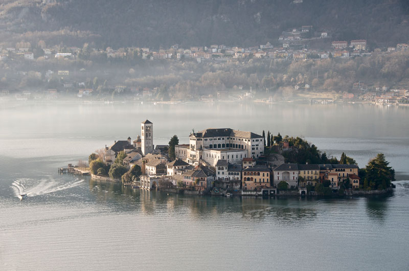 Picture of the Day: San Giulio Island, Italy