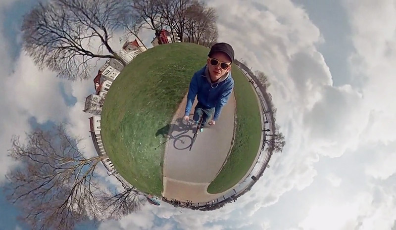 You Know Those 'Tiny Planet' Photos? This Guy Made a Video Version
