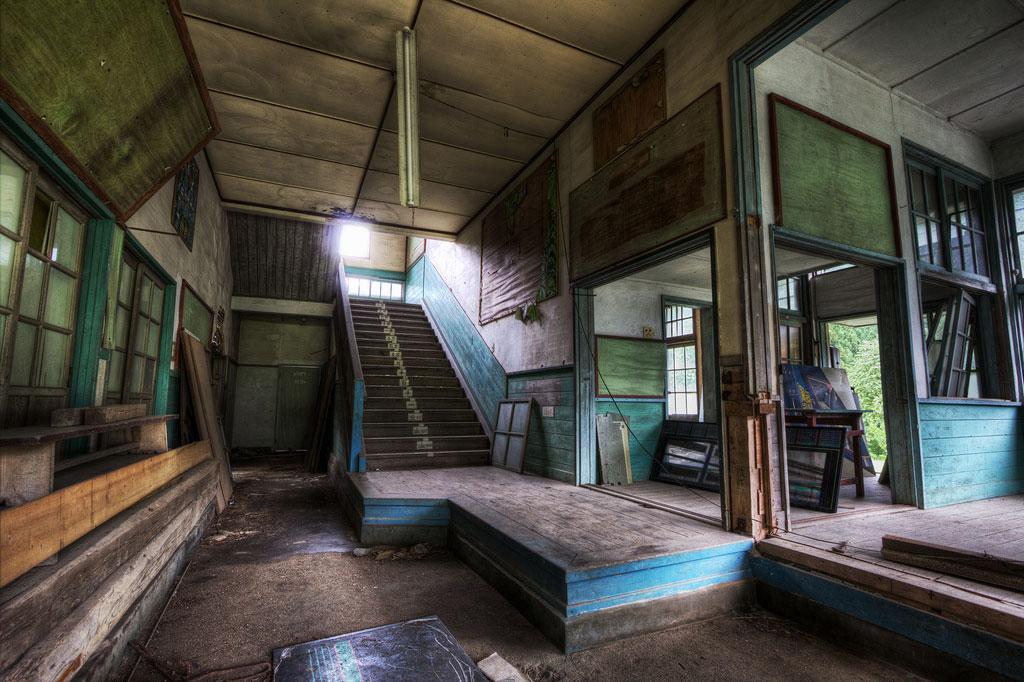 08_AbandonedJapaneseSchool by Chris Luckhardt