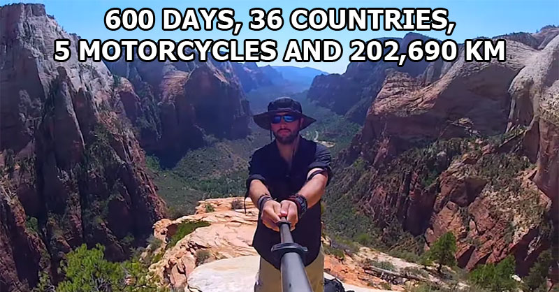 This Guy Rode Over 200,000 km and Took a 360 Panorama Everywhere He Went
