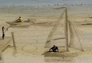 The Awesome 3D Beach Art of 3DSD