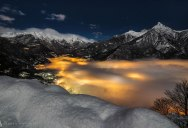 Picture of the Day: of Lava and Snow