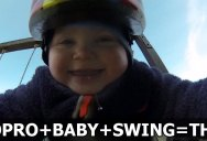 This Baby Wore a GoPro on the Swing Set. Yes There was Drool