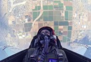 This Guy Got to Ride in an F16 so He Took a GoPro with Him