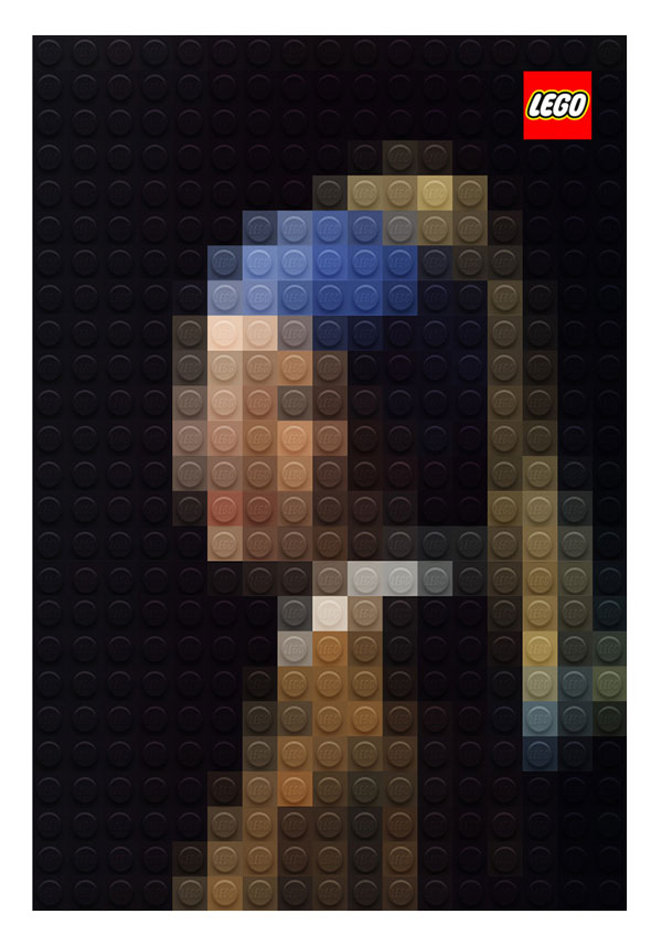 lego versions of famous paintings by marco sodano (1)