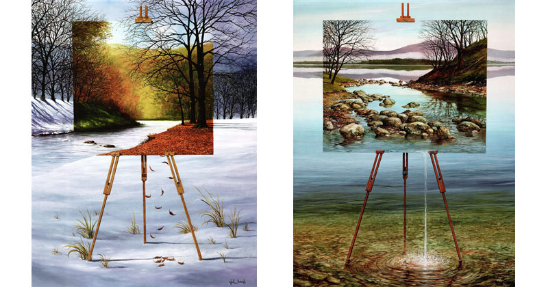 Paintings within Paintings by Neil Simone