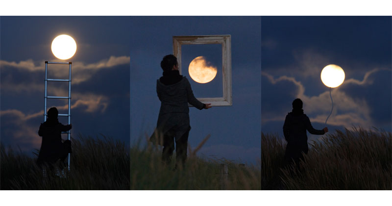 Playing with the Moon by Laurent Laveder