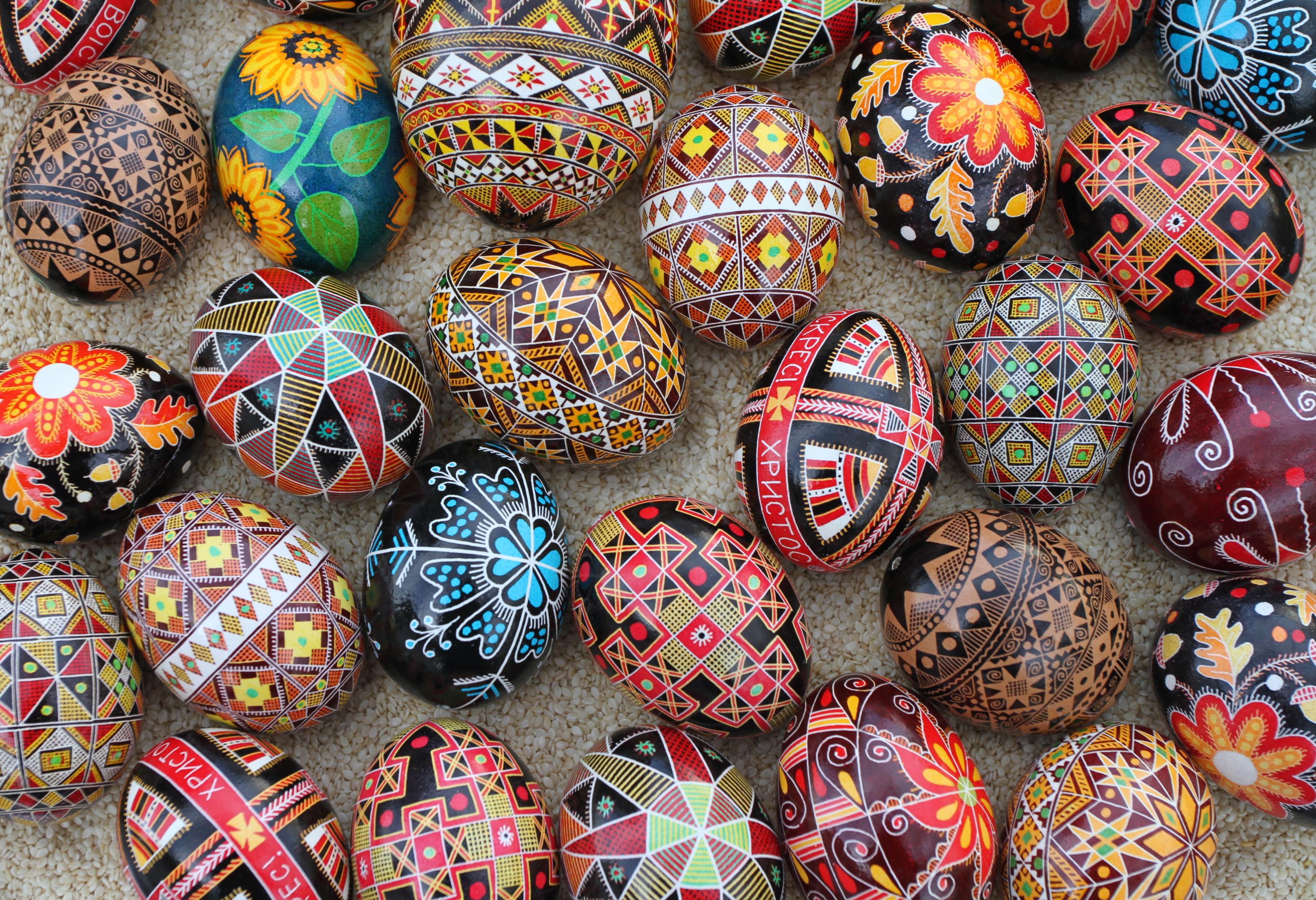 Pysanky Ukranian Easter Eggs