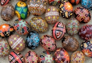 Picture of the Day: Ukrainian Easter Eggs