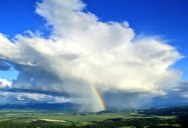 Picture of the Day: Rainbow Storm Cloud