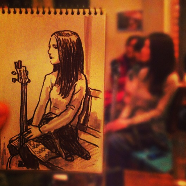 speed sketches of everyday scenes by hama house (1)