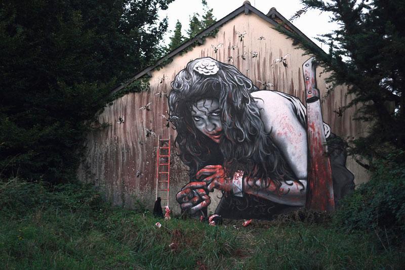 street art graffiti by MTO (3)