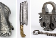 Acid-Etched Metal Art from the Renaissance