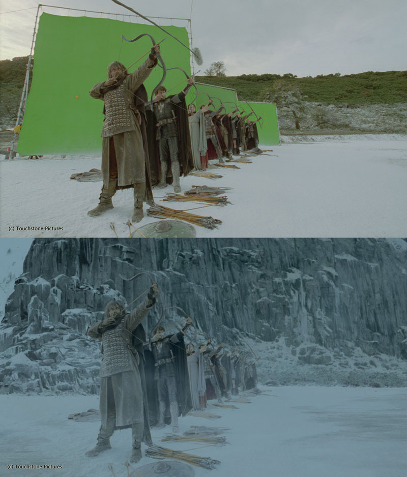 Before and After Shots That Demonstrate the Power of Visual Effects (10)
