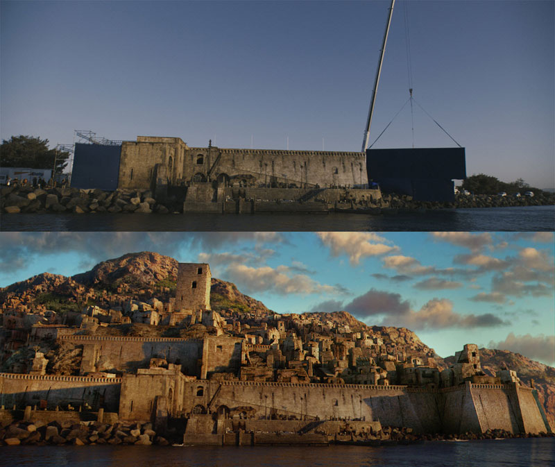Before and After Shots That Demonstrate the Power of Visual Effects (20)