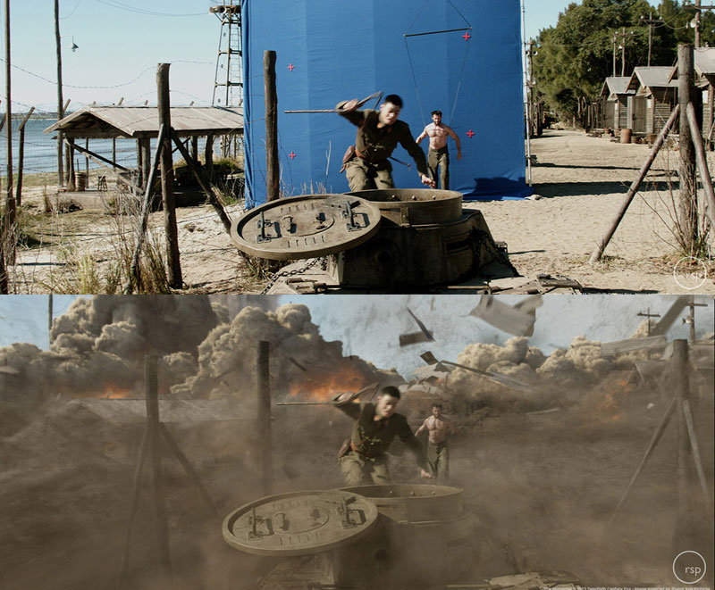 Before and After Shots That Demonstrate the Power of Visual Effects (36)