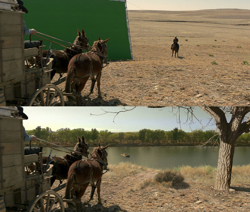 Before and After Shots That Demonstrate the Power of Visual Effects (38)