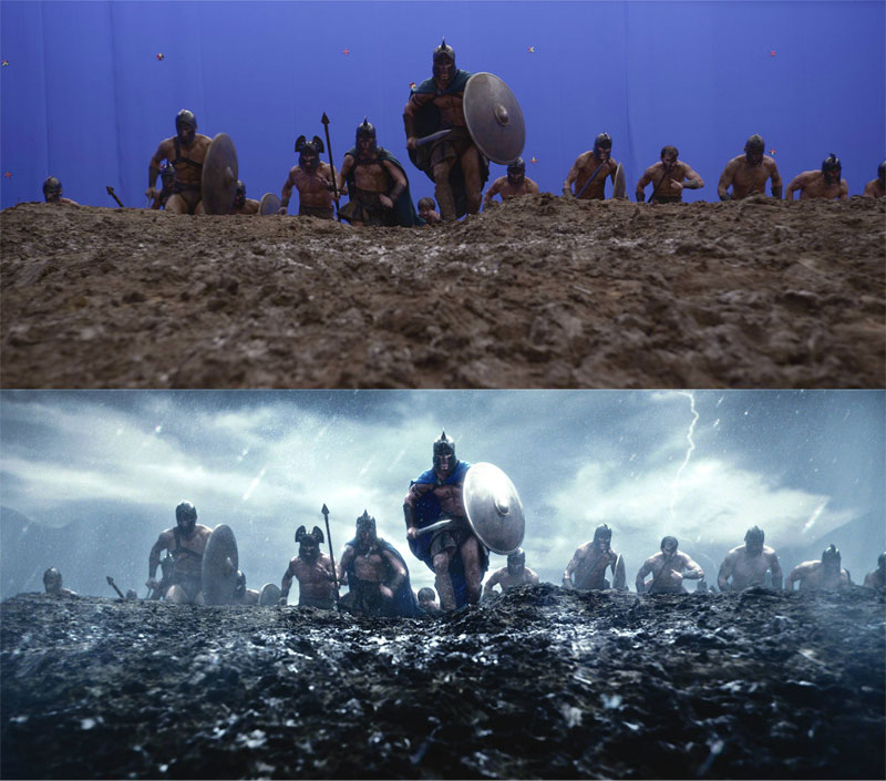 Before and After Shots That Demonstrate the Power of Visual Effects (4)