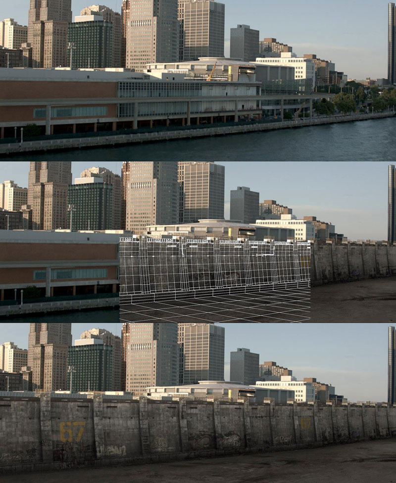 Before and After Shots That Demonstrate the Power of Visual Effects (40)