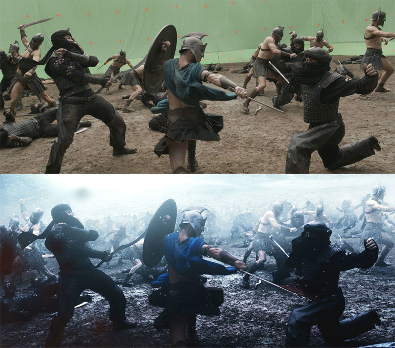 Before and After Shots That Demonstrate the Power of Visual Effects (5)