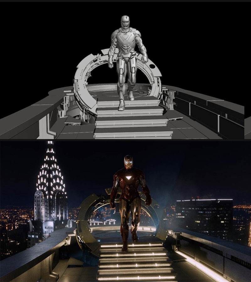 Before and After Shots That Demonstrate the Power of Visual Effects (9)