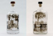 Bottled Smoke Art by Jim Dingilian