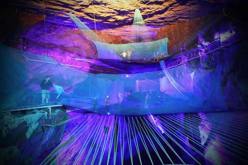 bounce below worlds largest underground trampoline (3)