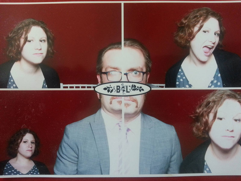 funny photobooth picture single giant portrait quarter of face in each pic The Shirk Report   Volume 270