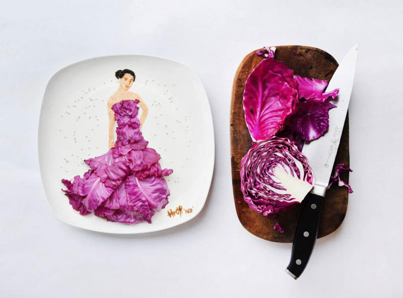 painting with food by red hong yi (1)