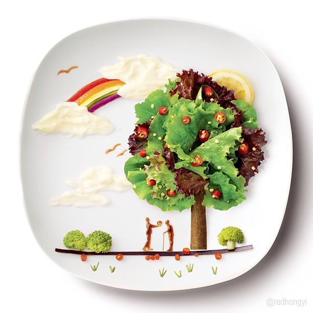 painting with food by red hong yi (11)