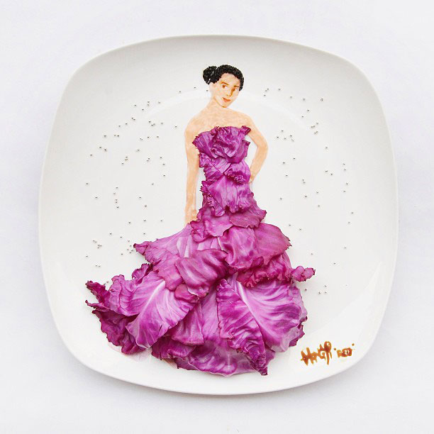 painting with food by red hong yi (2)