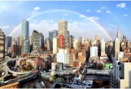 Picture of the Day: A Perfect Rainbow Over New York