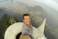 Picture of the Day: Selfie from the Top of Rio de Janeiro