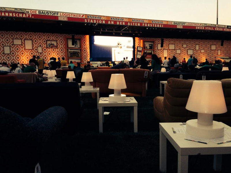 stadium in berlin turned into giant living room people bring own couches (4)