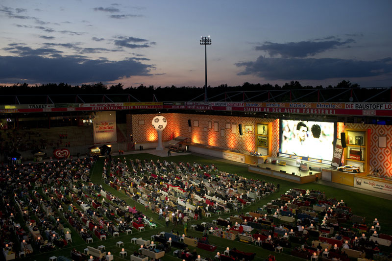stadium in berlin turned into giant living room people bring own couches (5)