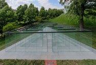 Robert Morris's Interactive Glass Labyrinth
