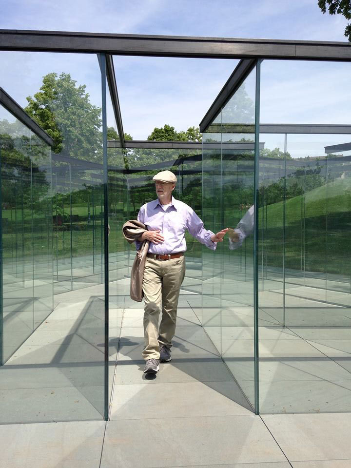 the glass labyrinth by robert morris at the donald j hall sculpture park (7)