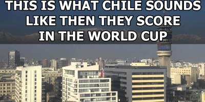 This is What Chile Sounds Like When They Score in the World Cup
