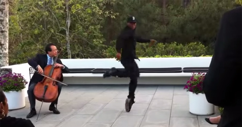 A Master Cellist and Street Dance Legend Get Together and Make Something Beautiful