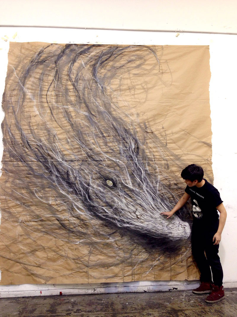 animal murals leap off the wall fiona tang (4)
