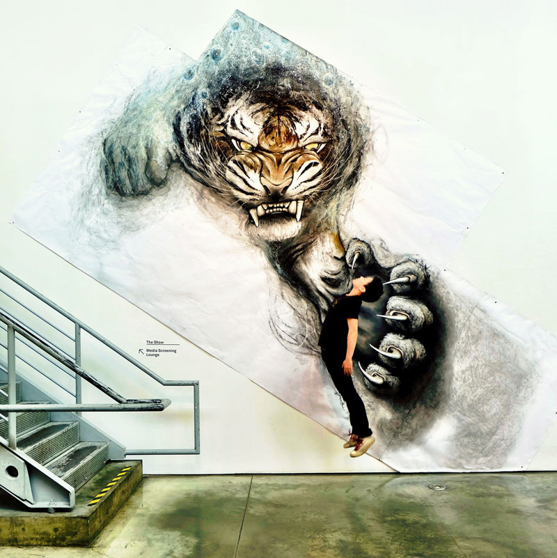 animal murals leap off the wall fiona tang (5)