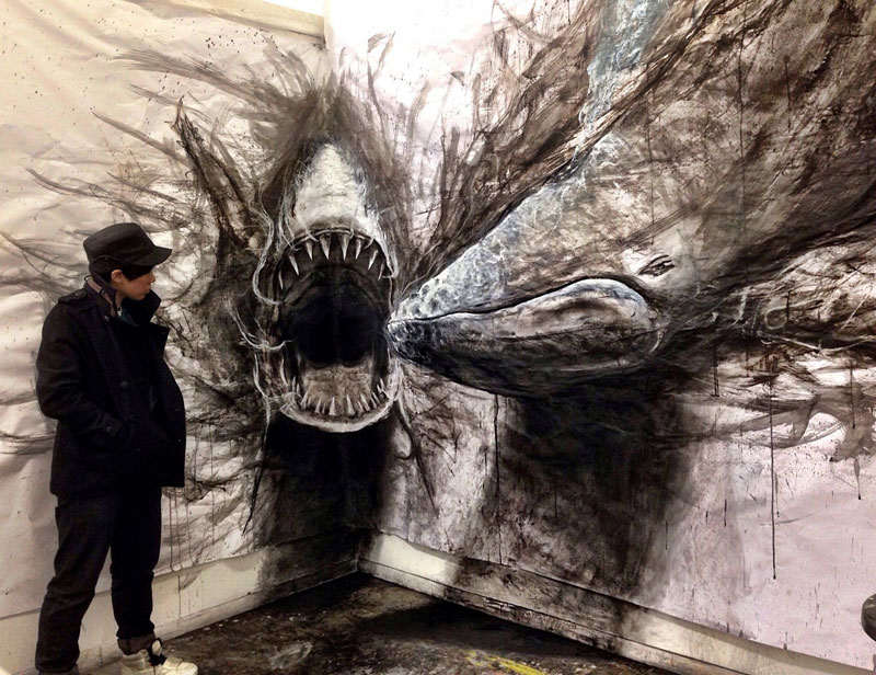 animal murals leap off the wall fiona tang (6)
