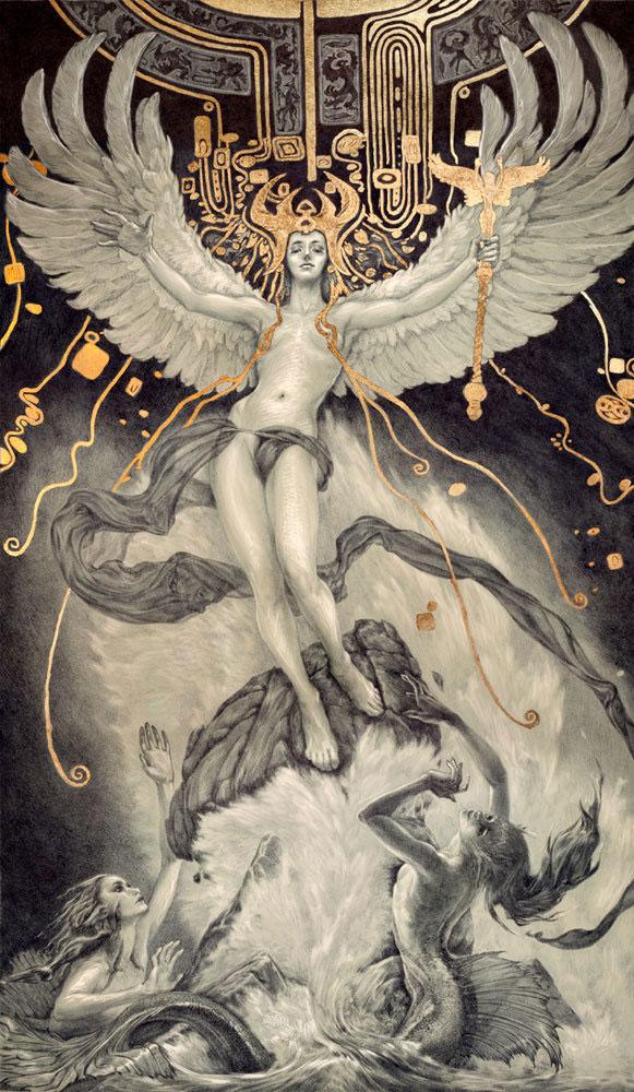ballpoint pen and gold lef illustrations by rebecca yanovskaya (4)