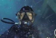 Divers Explore Sunken Cruise Ship Costa Concordia