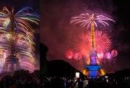 The Eiffel Tower on Bastille Day