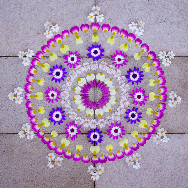 flower mandalas by kathy klein (12)